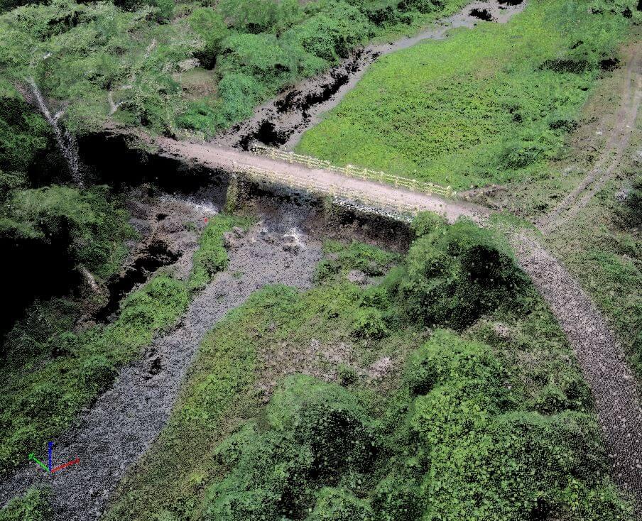 Levantamiento topográfico con drones El Salvador Alfa Geomatics