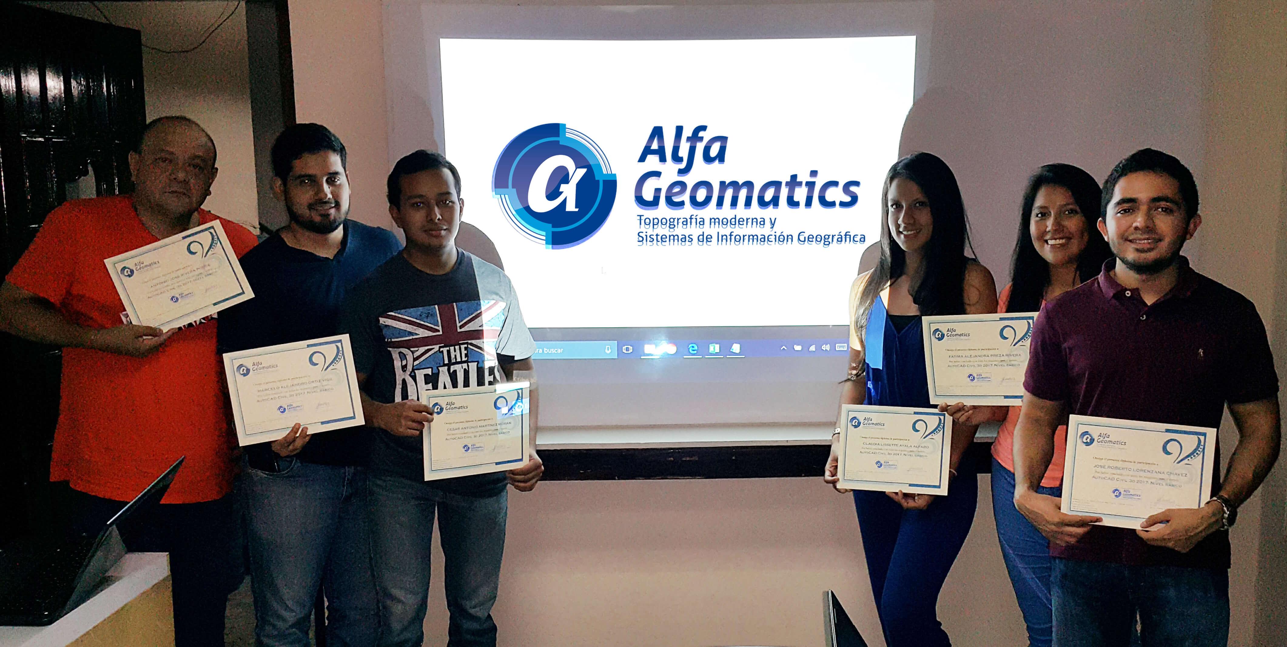 Curso de AutoCAD Alfa Geomatics