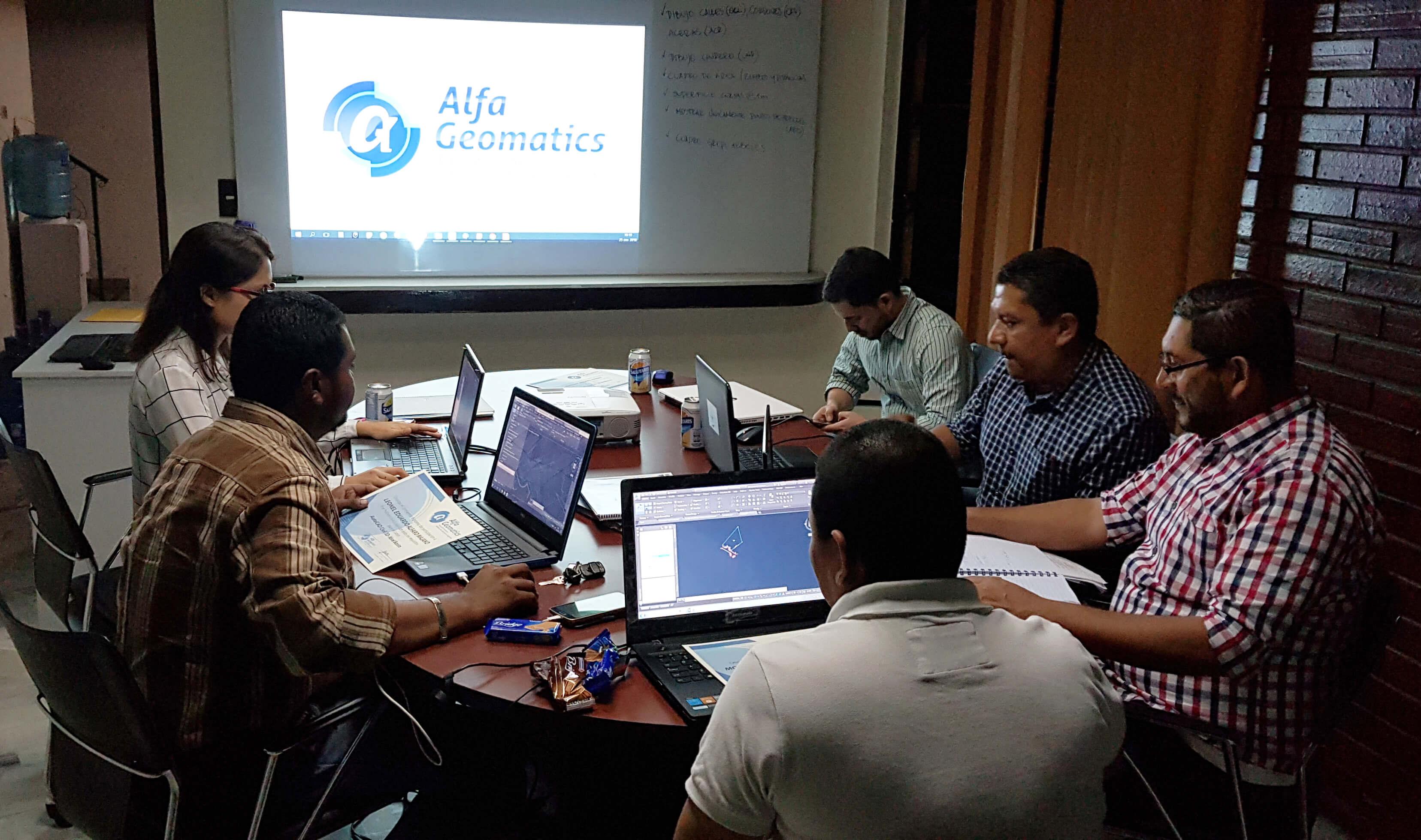 Curso de Civil 3D Alfa Geomatics