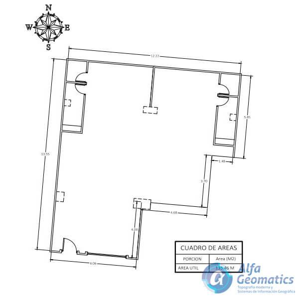 Levantamiento arquitectónico Alfa Geomatics