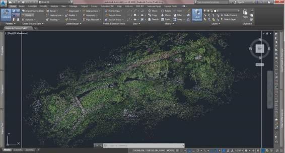 Manejo de nube de puntos AutoCAD Civil 3D Alfa Geomatics