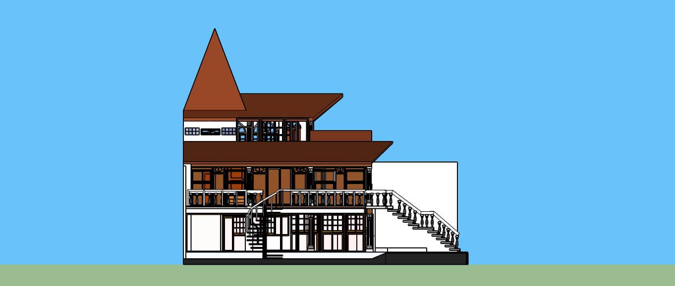 Modelado tridimensional arquitectónico Alfa Geomatics