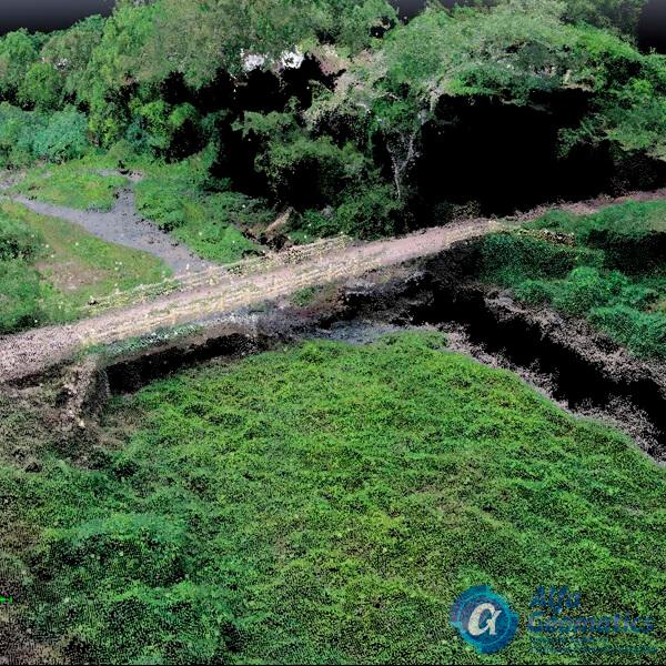 Levantamiento fotogramétrico con dron Alfa Geomatics El Salvador