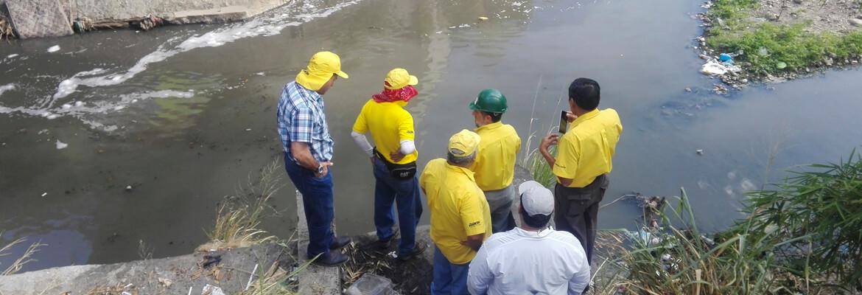Levantamiento topográfico puente Agua Caliente Alfa Geomatics