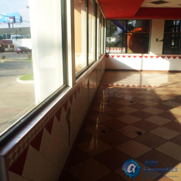 levantamiento arquitectónico de restaurante Alfa Geomatics